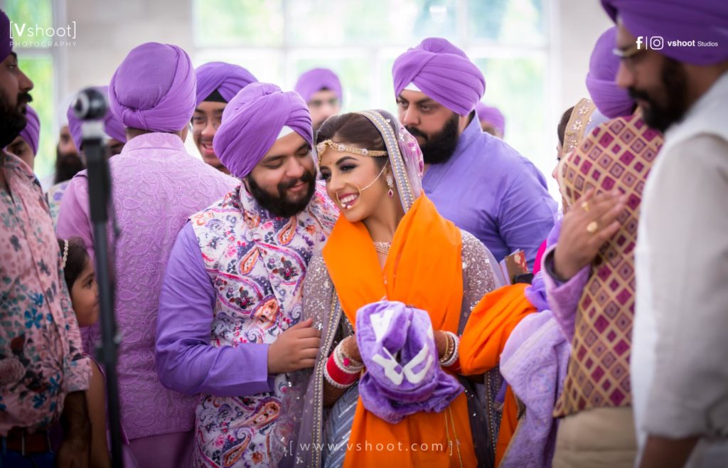 vshoot punjabi bride and groom